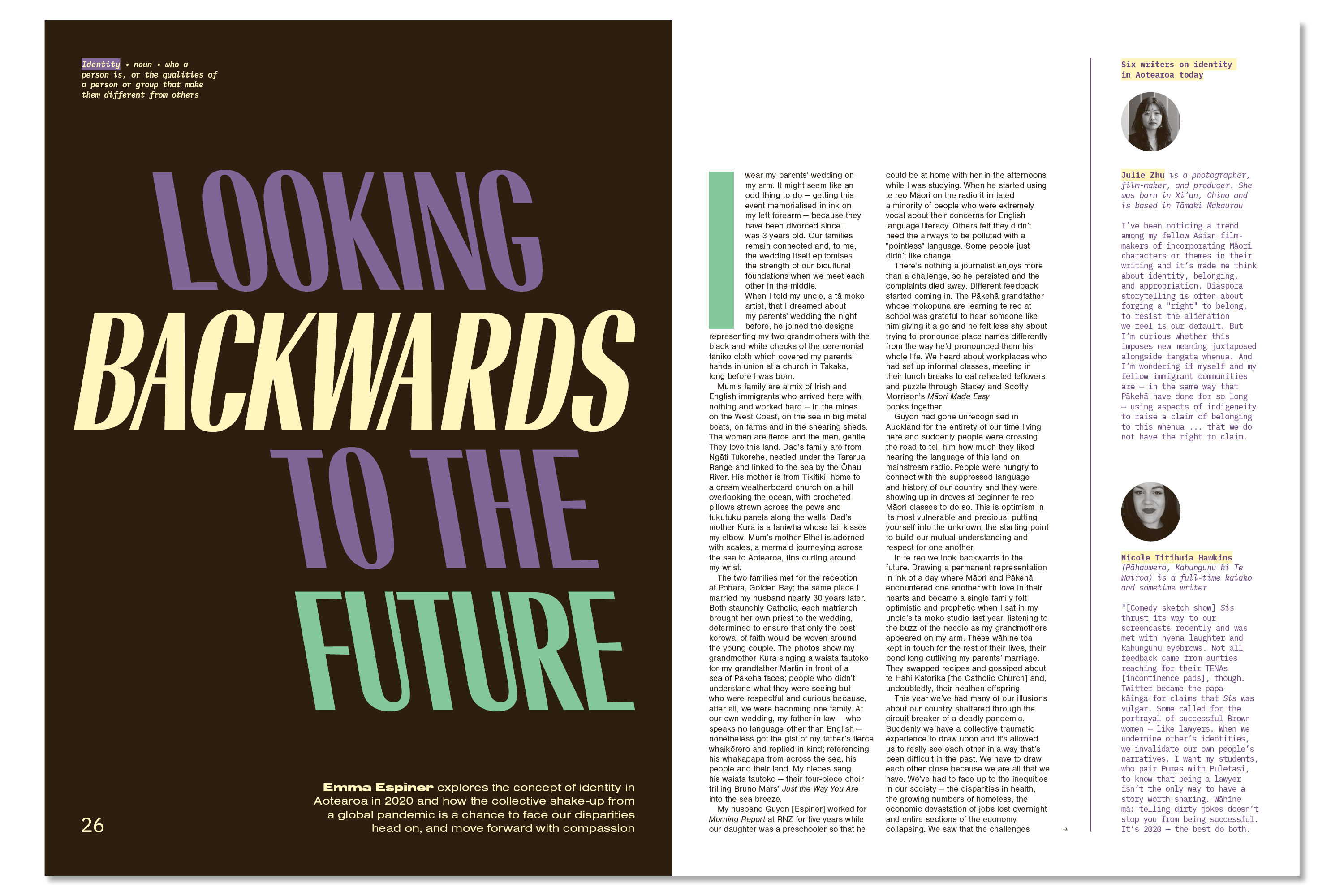 2 Looking Backwards to the future identity in Aotearoa in 2020