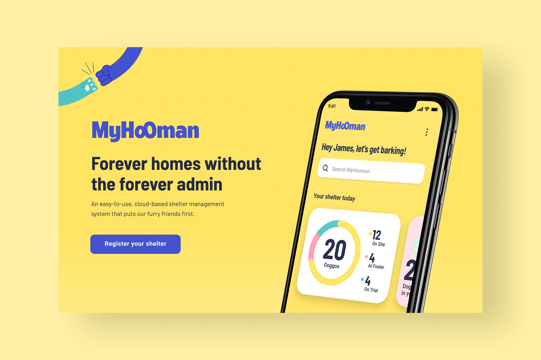 My Hooman website