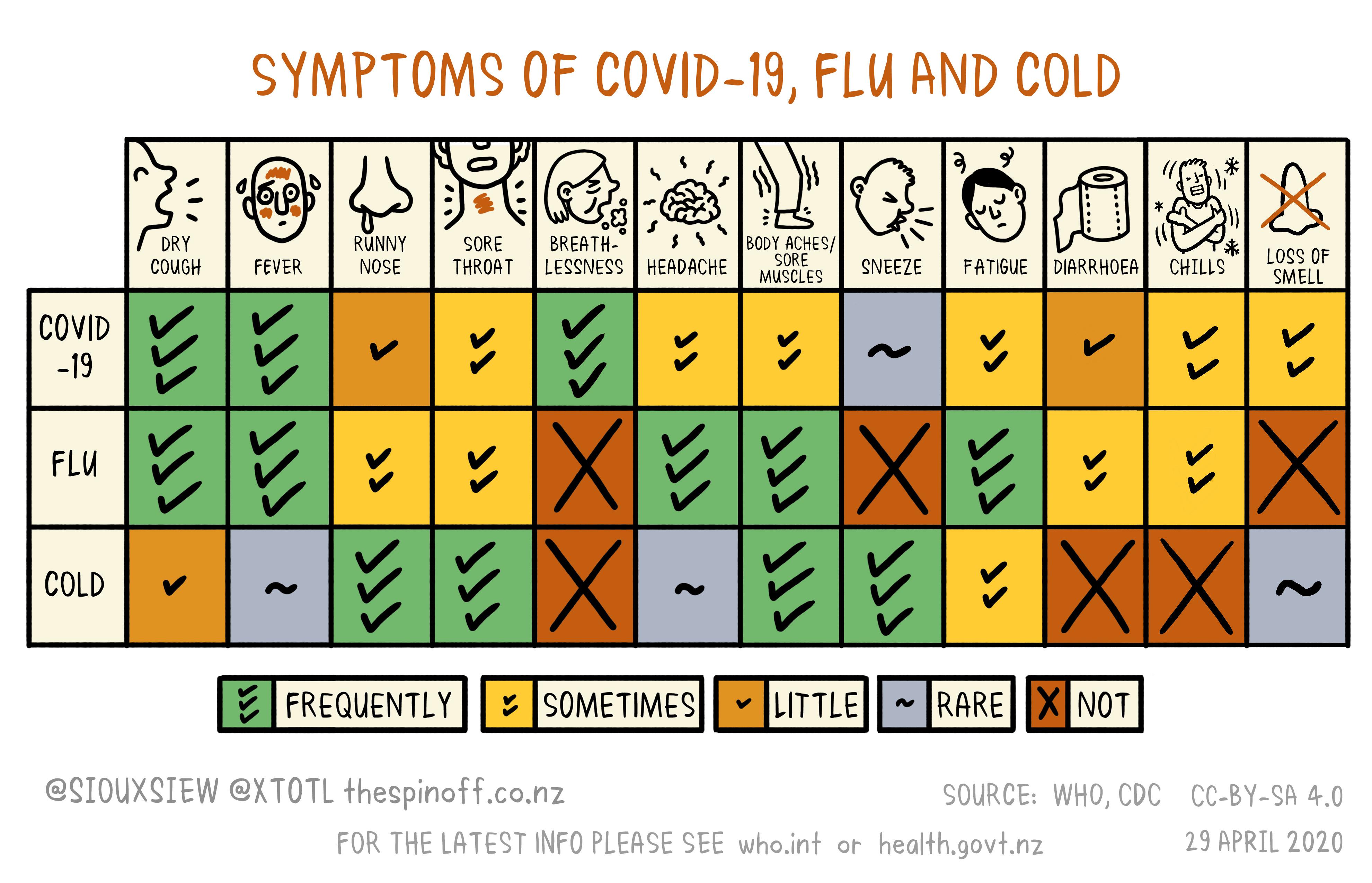 Flu Cold Symptoms